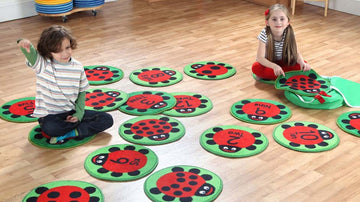 Back To Nature Counting Ladybird Carpets