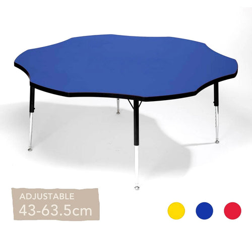 Adjustable Flower Table All Colours 43cm - 63.5cm