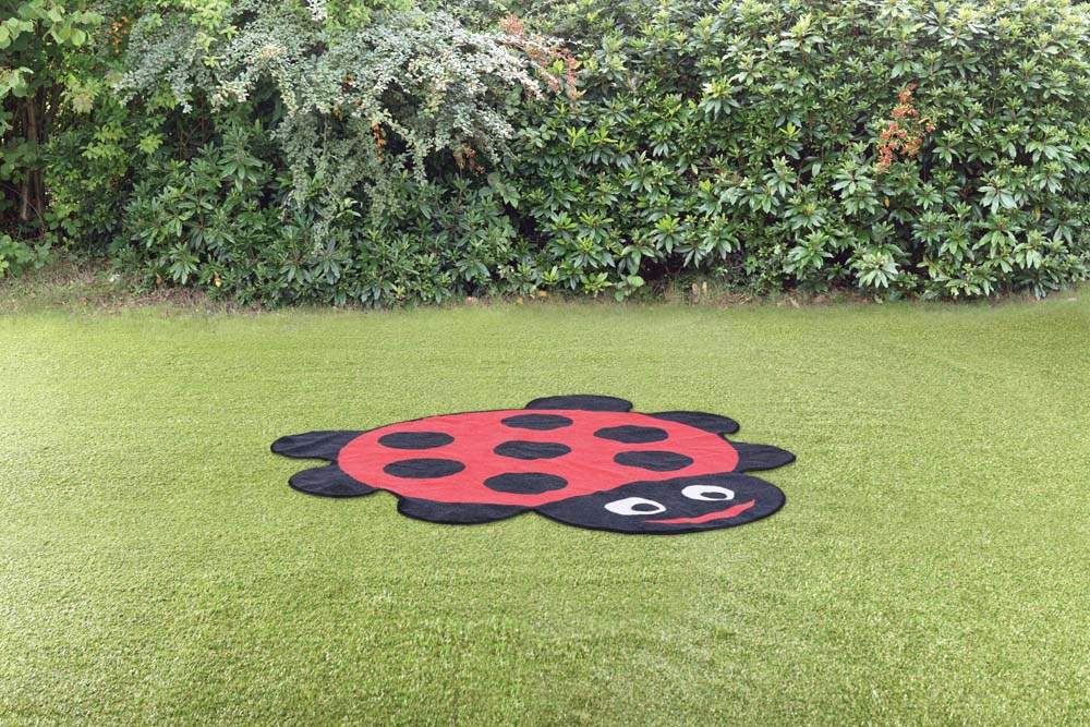Back to Nature Ladybird Shaped Outdoor Mat