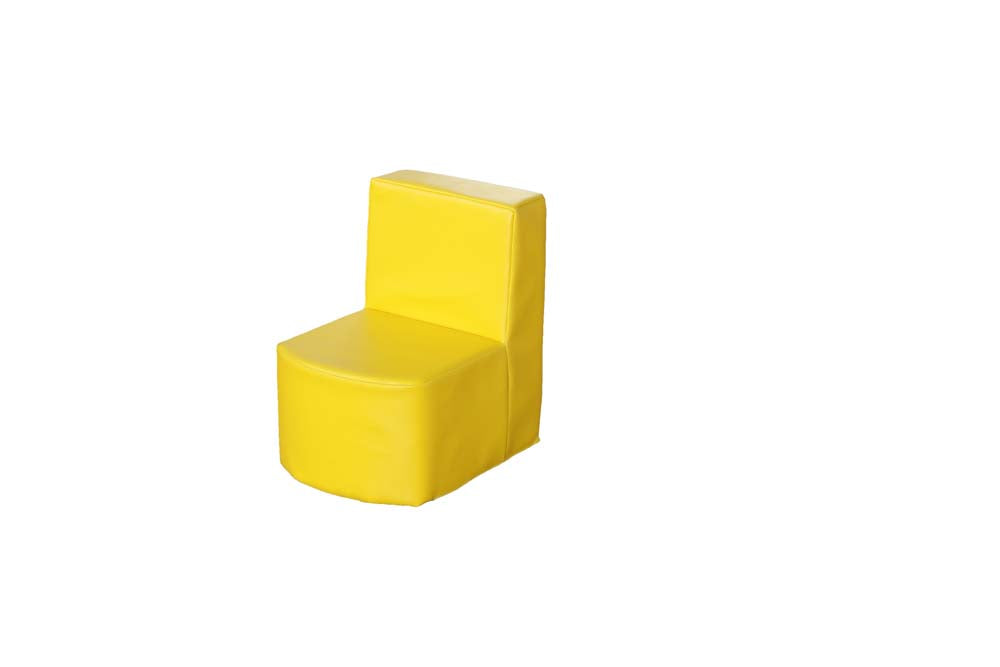 Modular Seating Unit Chair 1 Yellow