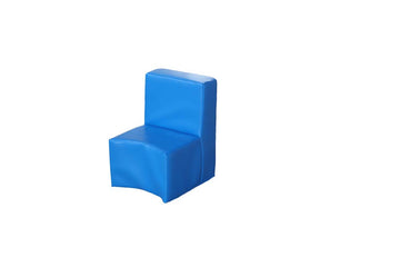 Modular Seating Unit Chair Cornflower Blue