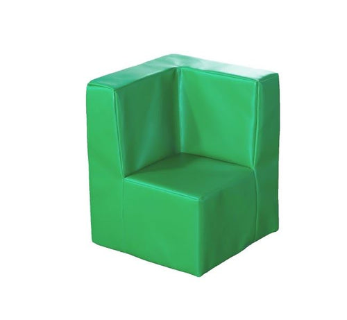 Rainbow Modular Seating Corner Seat Apple Green