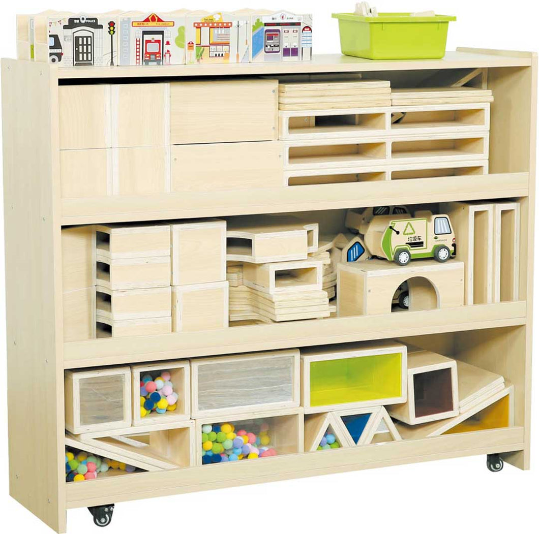 Block Storage Cabinet (Blocks Not Included)