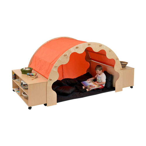 Pod W/Canopy + Complete Set Incl. Bookcases - Orange