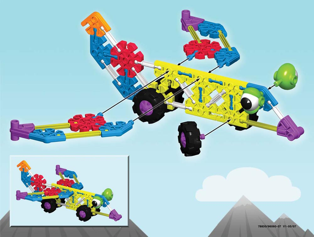 Kid K'nex Transportation