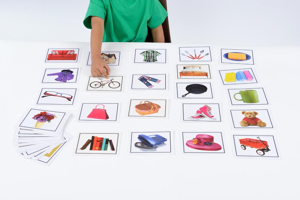 Nouns: Everyday Objects Learning Cards