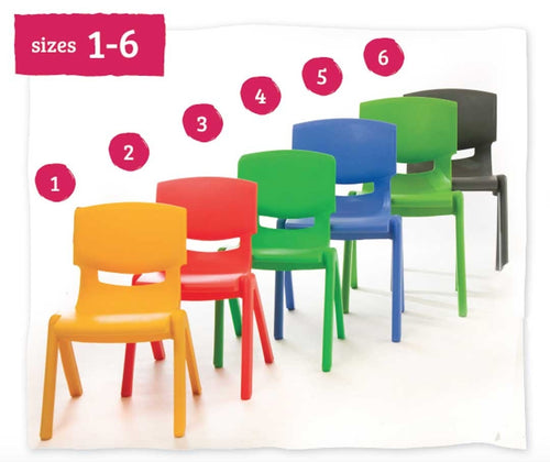 Kite Classroom Chair 40cm All Colours