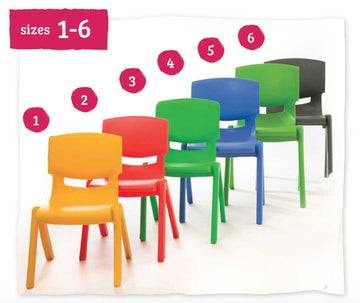 Kite Classroom Chair 35cm All Colours