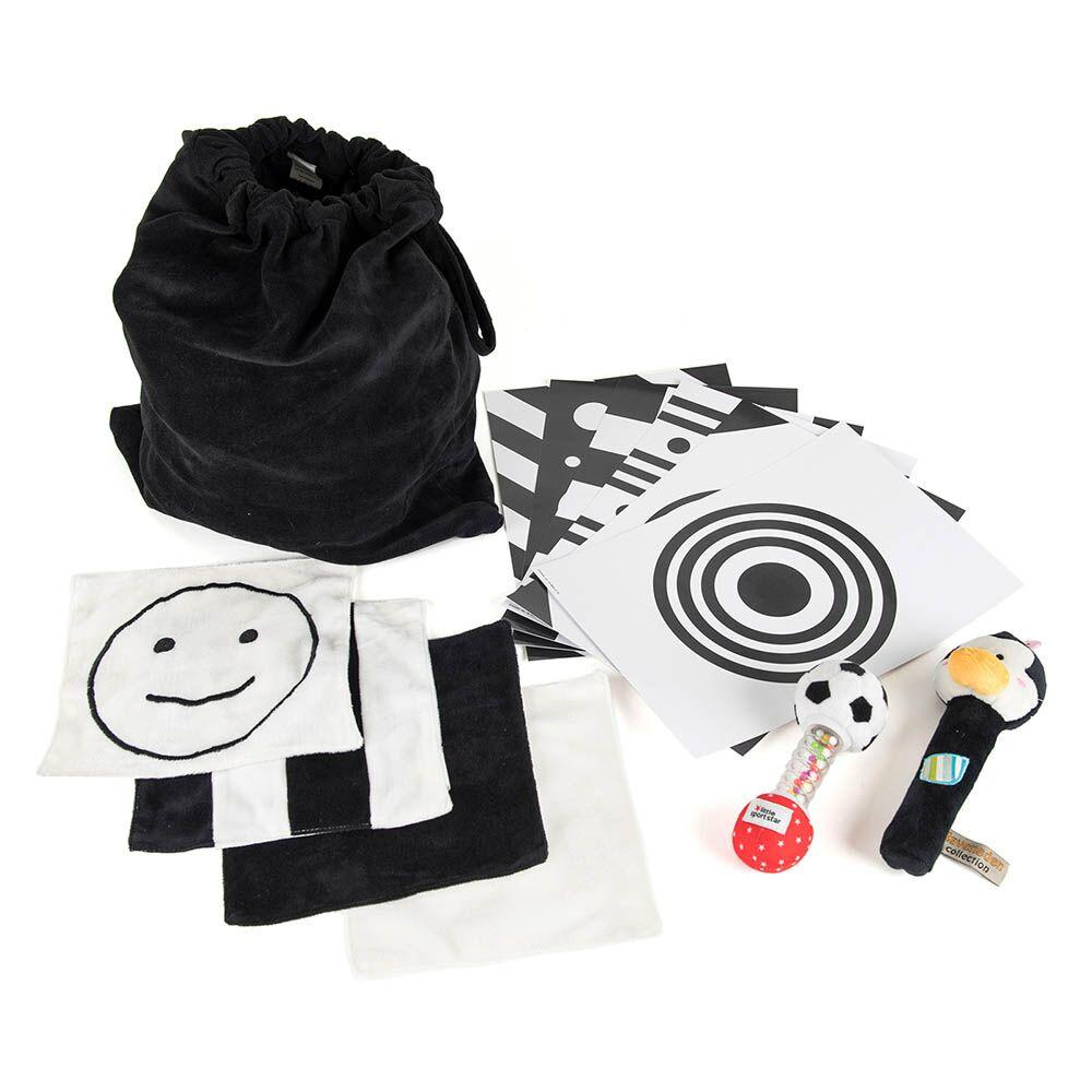 Baby Black and White Accessory Set
