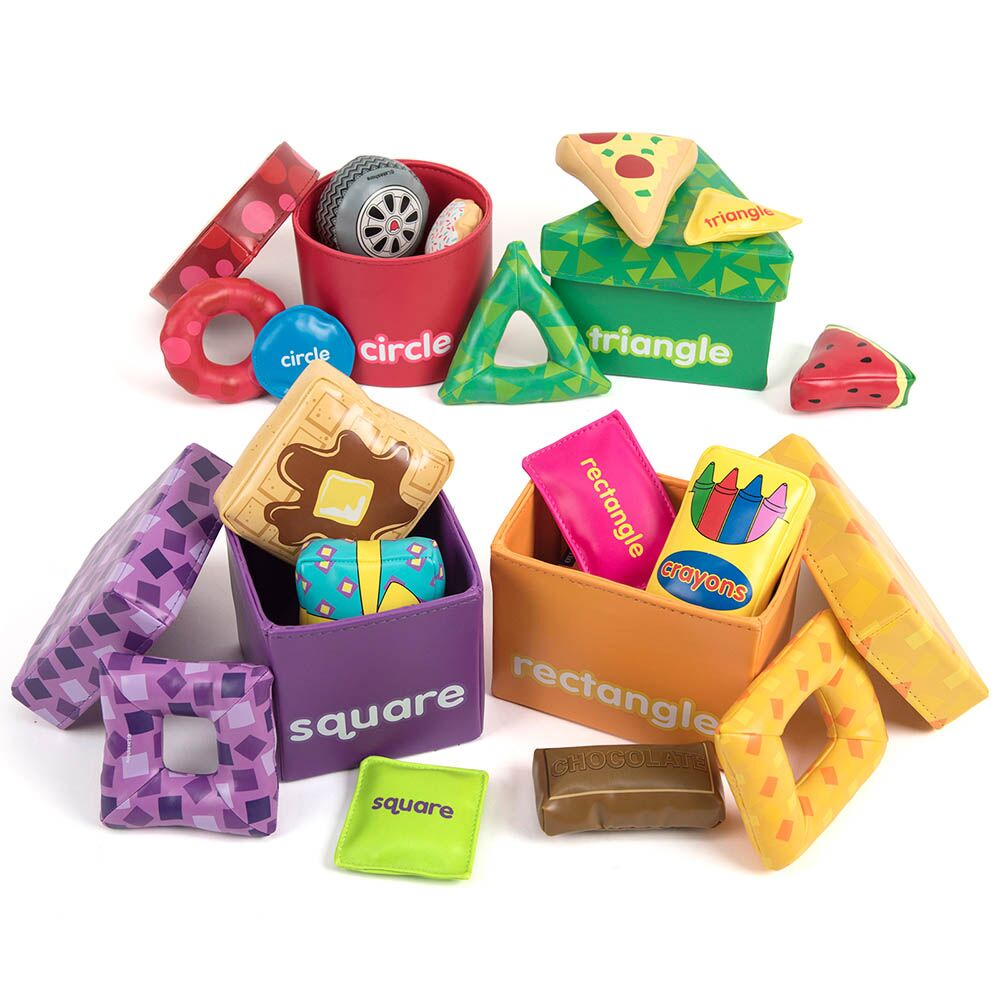 Shape Sorting Boxes