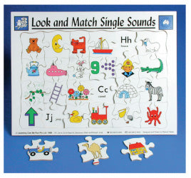 Look And Match Single Sounds Puzzle
