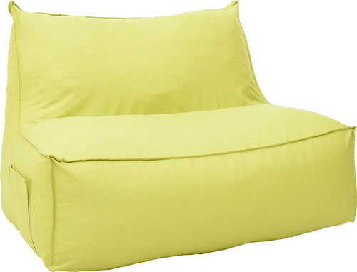 Pouf-couch green