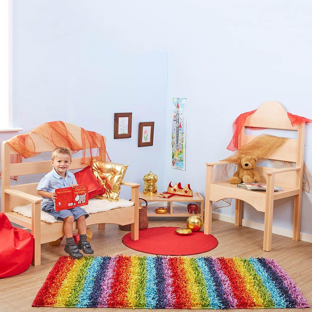 Fairy Tale Wooden Seating Unit