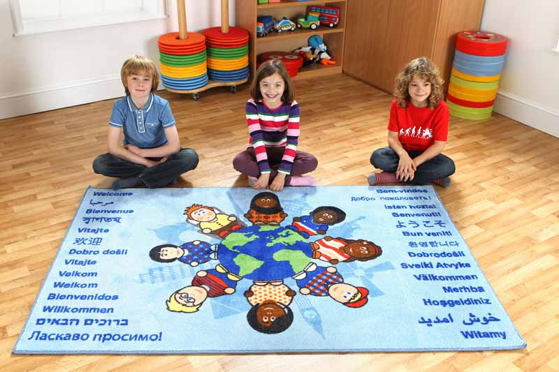 Children of the World Welcome Carpet - EASE