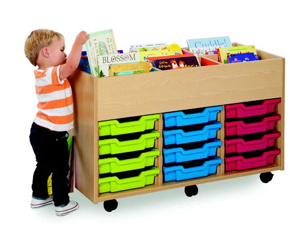 Bubblegum 6 Bay Kinderbox Tray Unit