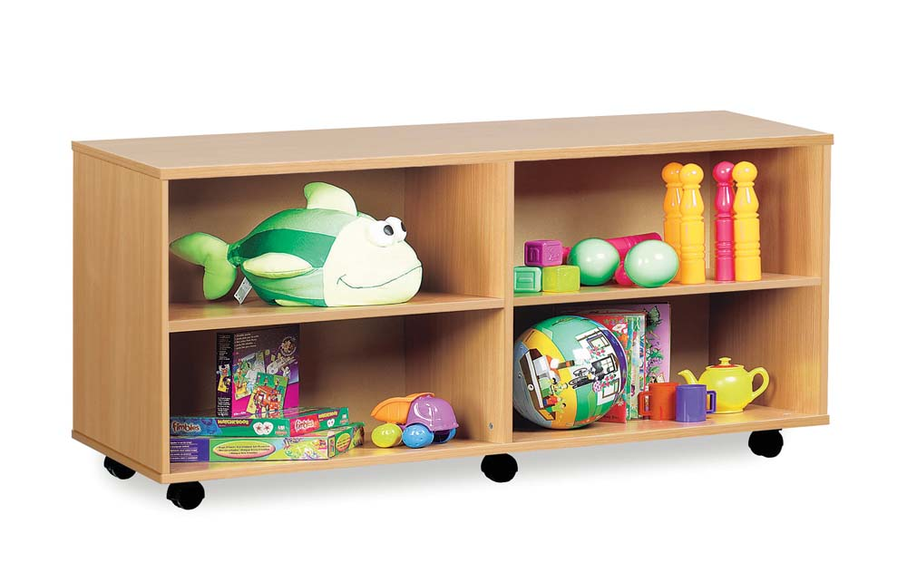 Open Shelf Unit with 4 Compartments