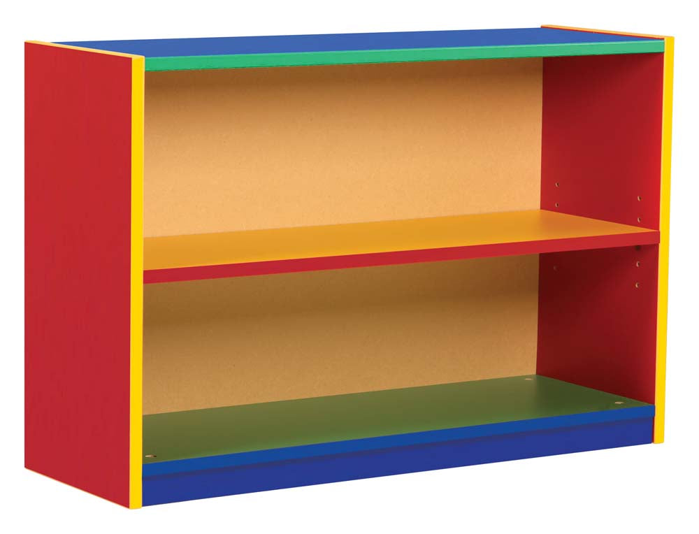 Bookcase with 1 adjustable shelf