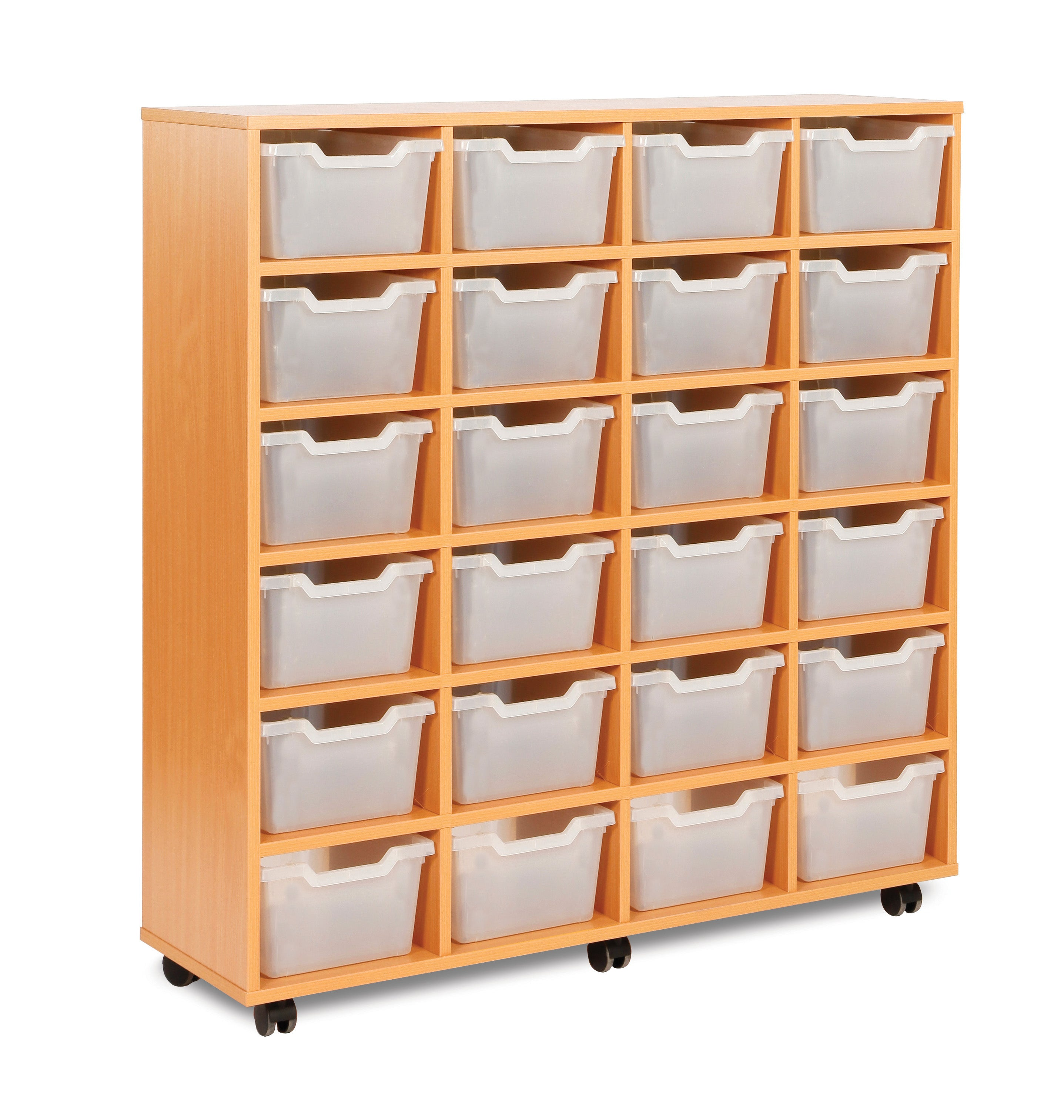 24 Cubby Tray Unit