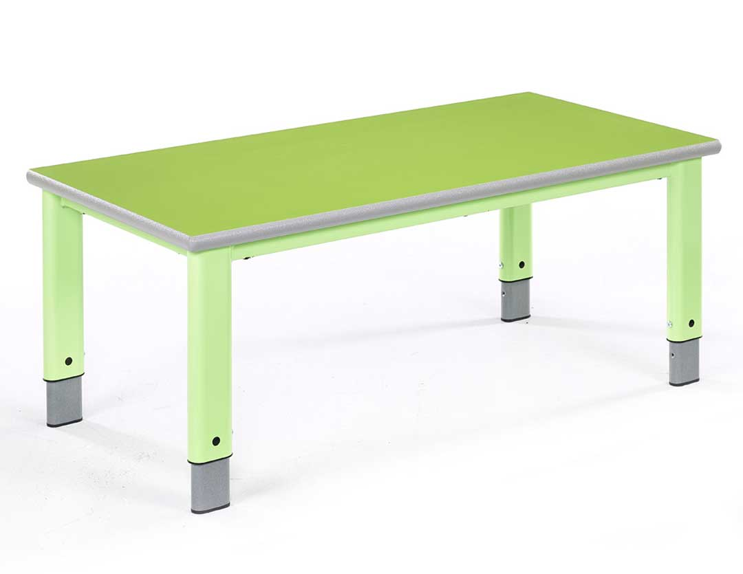 Metalliform Rectangular Table
