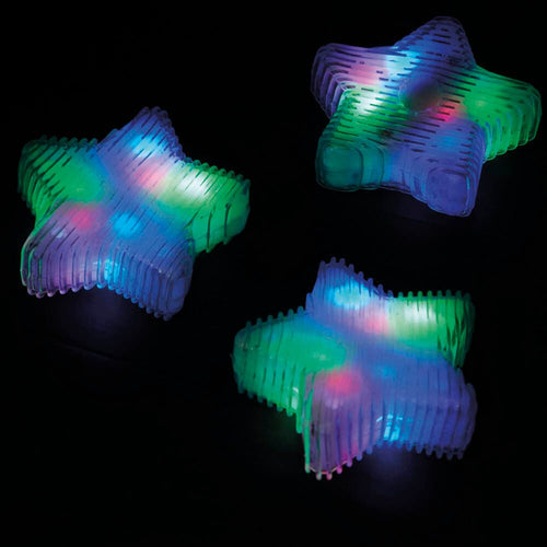 Squeezy Sensory Multicoloured Star Light 3pk