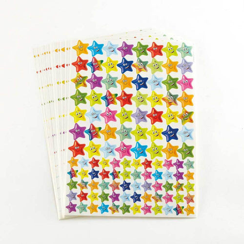 Assorted Star Stickers