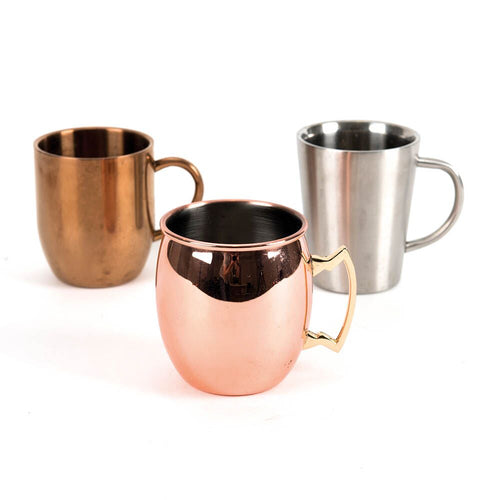 Rose Gold Metallic Cup Collection