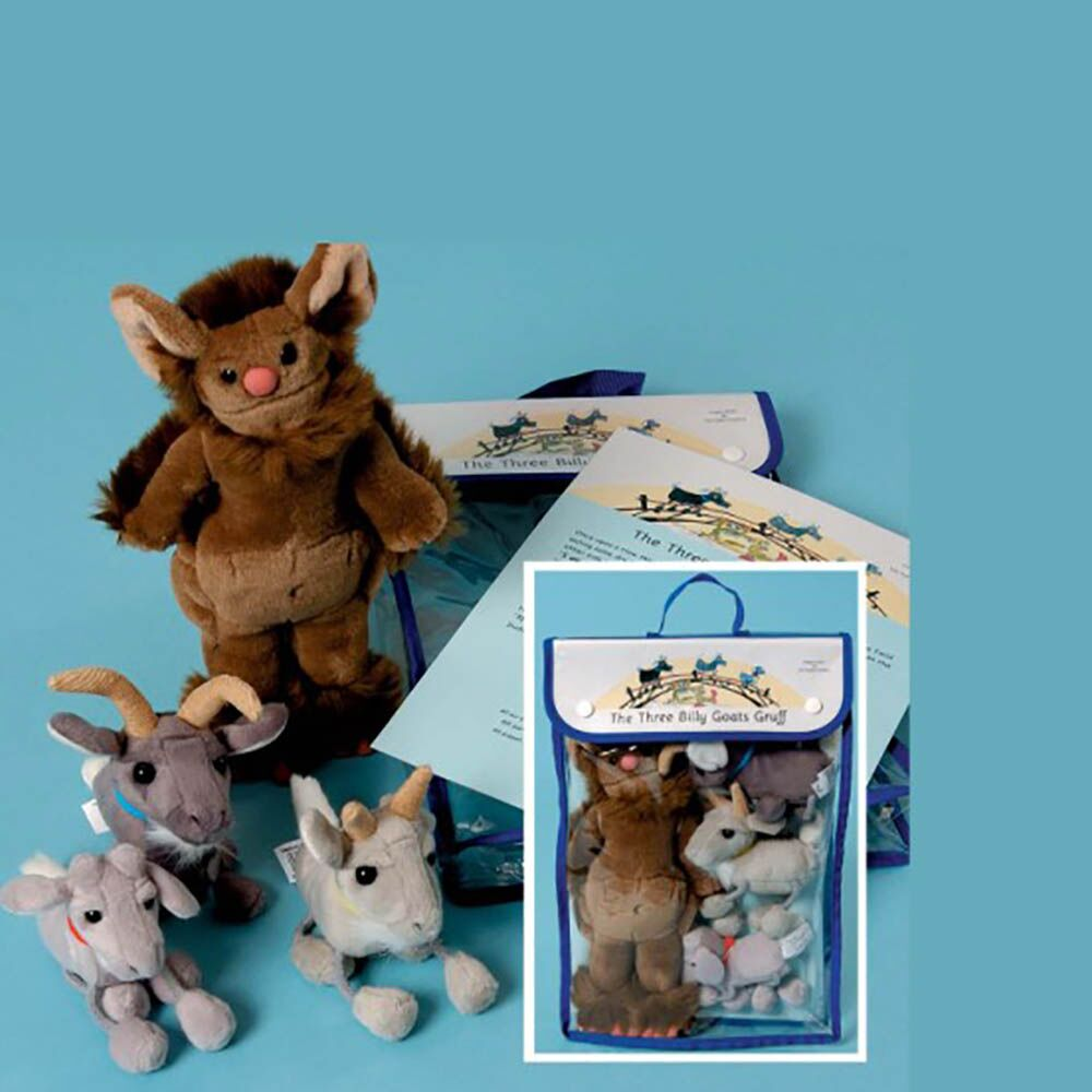 The Three Billy Goats Gruff Puppet and Story Set