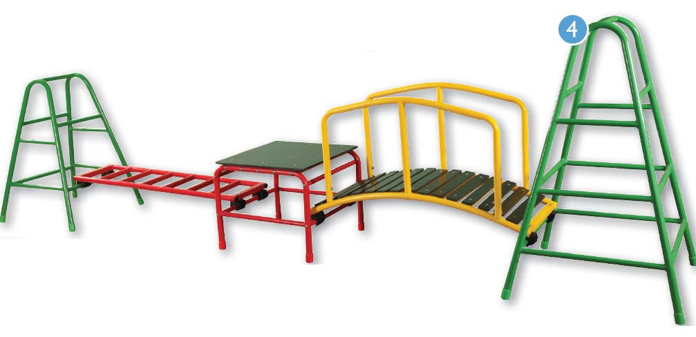 Outdoor Gym Set 4