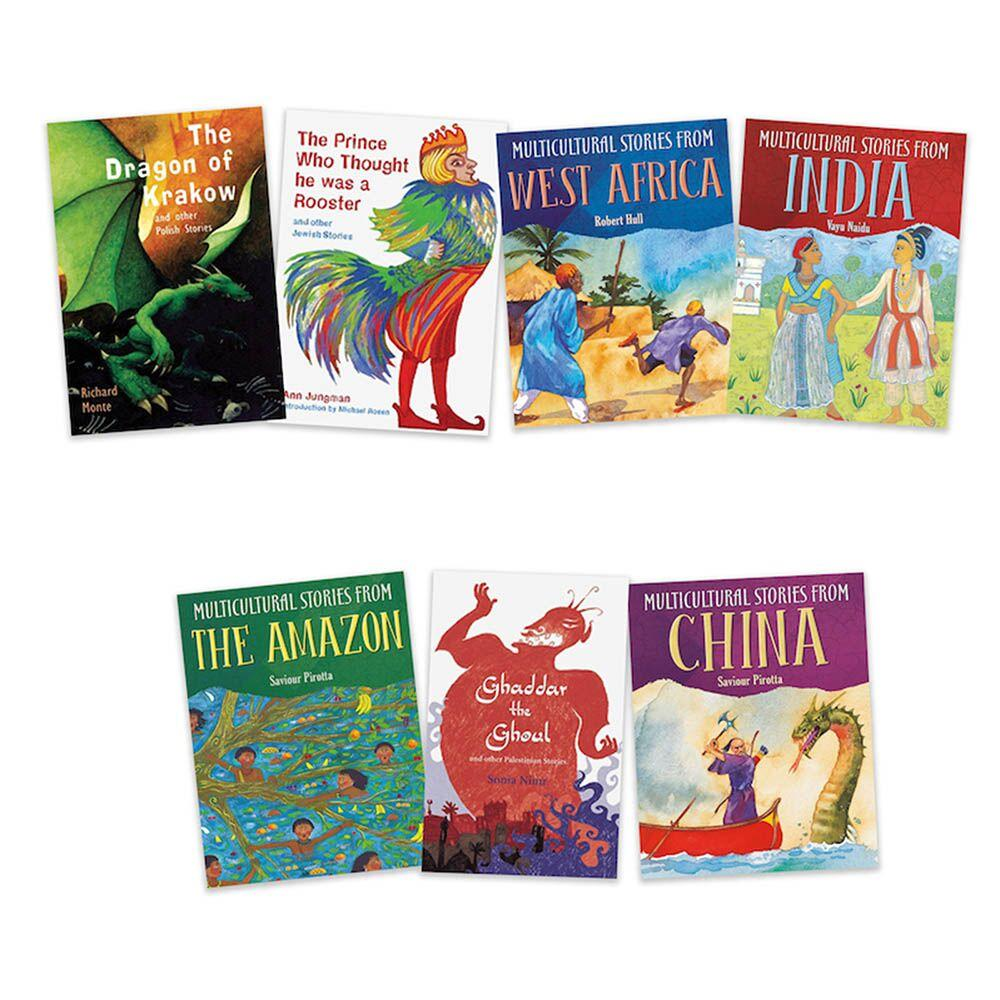 Tales From Different Cultures Books 7pk