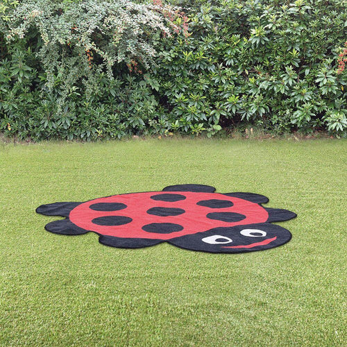 Back to Nature Outdoor Ladybird Shaped Mat