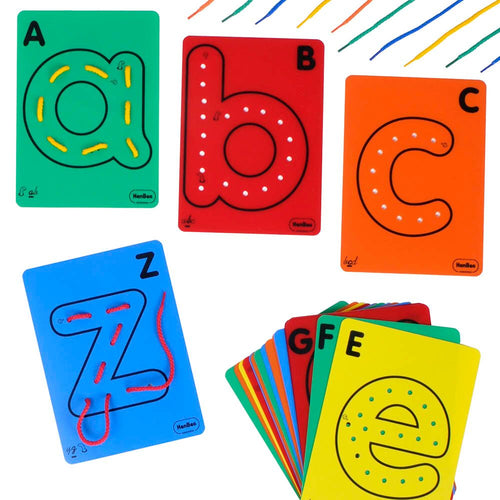 Large Lowercase Lacing and Threading Letters 26pk