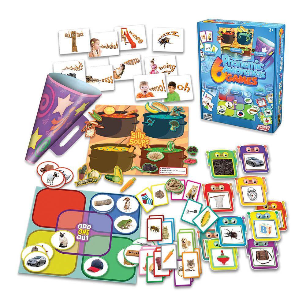 Phonemic Awareness Games 6pk