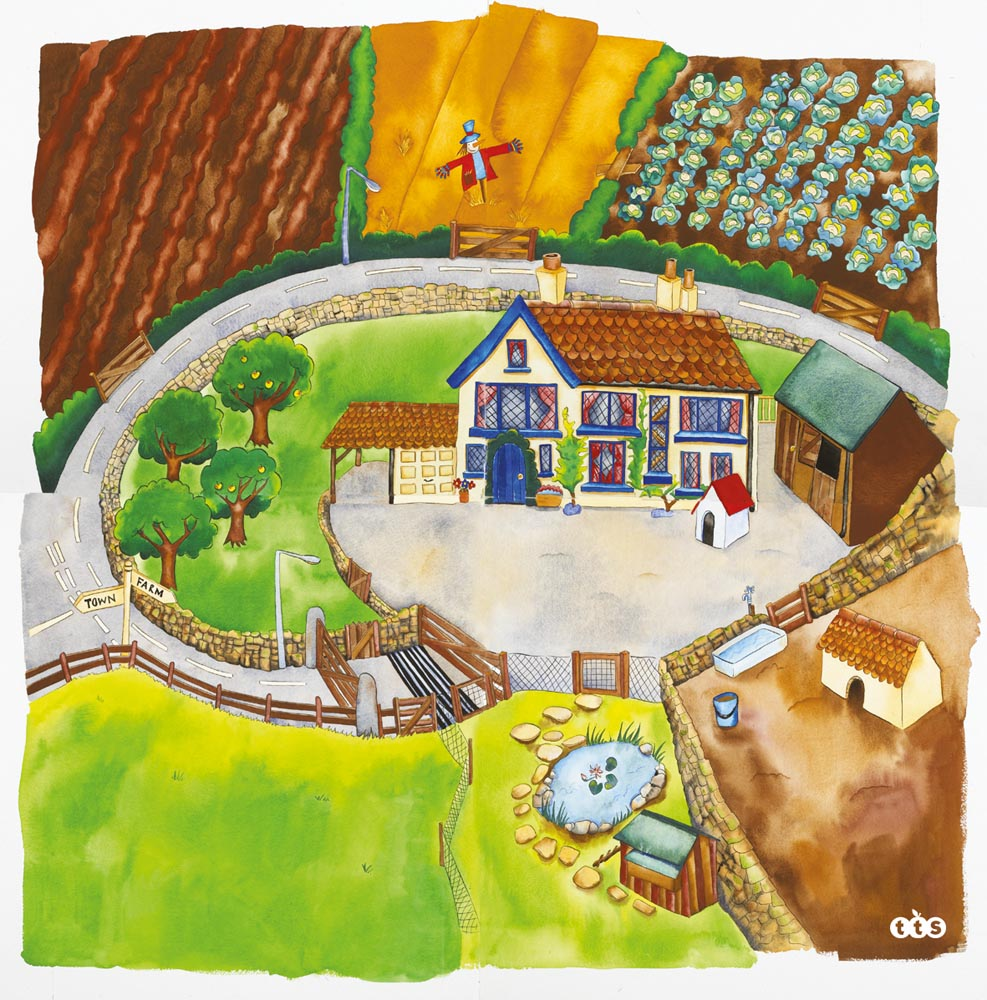Farmyard Playmat