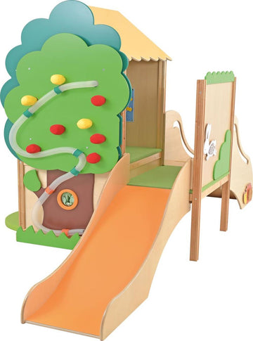 Tree House with Slide