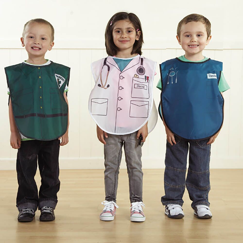 People Who Help Us Role Play Tabards 6pcs Costume