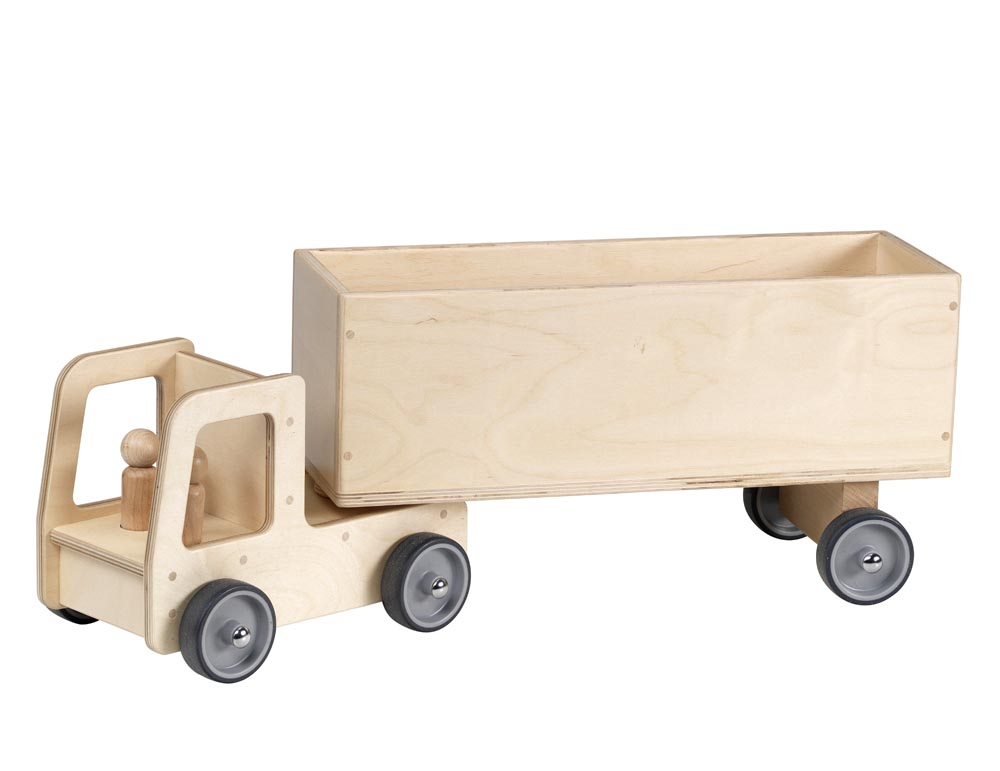 Giant Lorry with Box Trailer