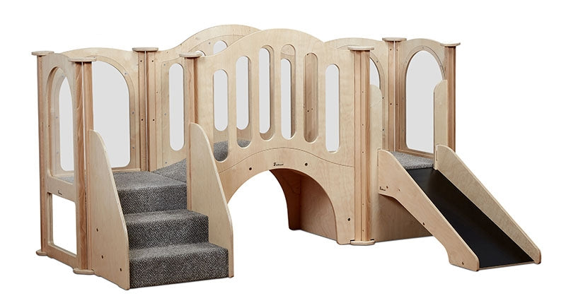 Hide & Slide Kinder Gym
