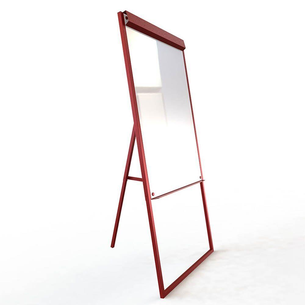 Non Magnetic Flip Chart Red