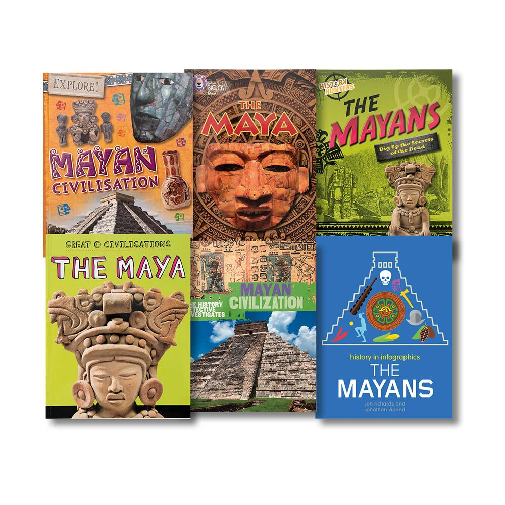 Mayan Book Collection 6pk