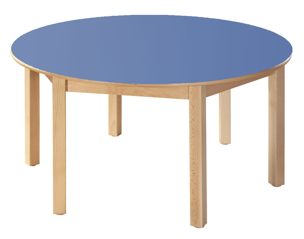 Wooden Round Tables All Heights & All Colours