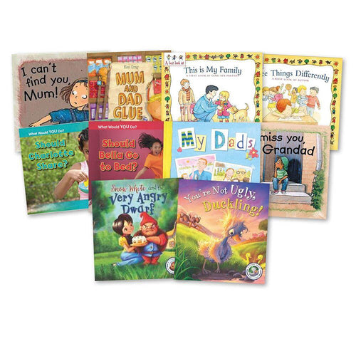 KS2 Real Life Issues Books 10pk