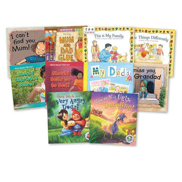 KS2 Real Life Issues Book Packs 10pk