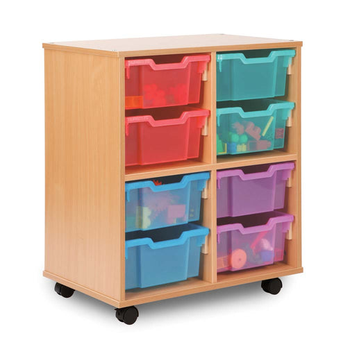 Allsorts 8 Deep Tray Storage Unit Unit