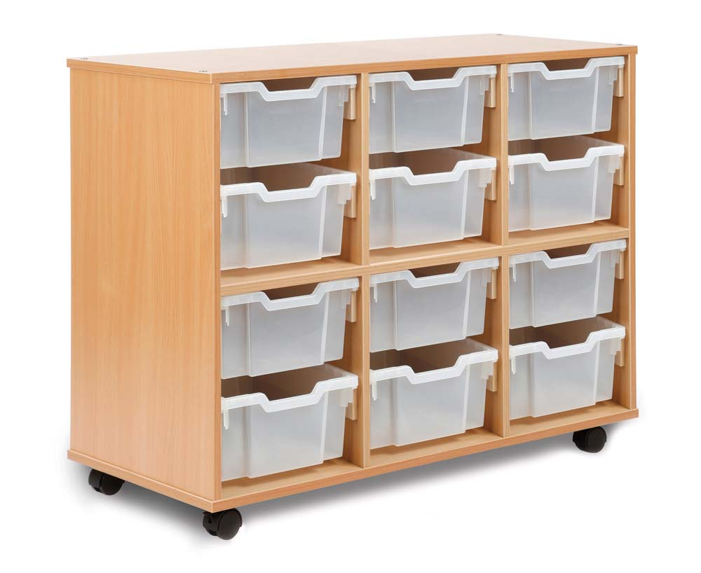 Allsorts 12 Deep Tray Unit