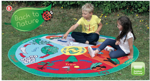 Back to Nature Lifecycle Outdoor Mat