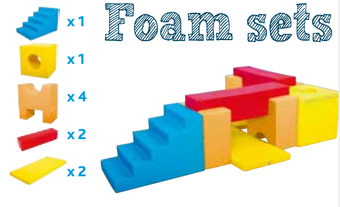Foam set - Rino
