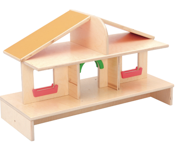 Dollhouse for Movable Cabinet