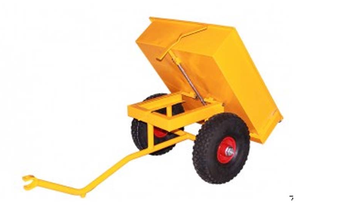 Moon Car Dumper Trailer