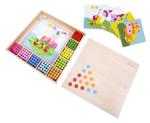 Color Matching Game Box