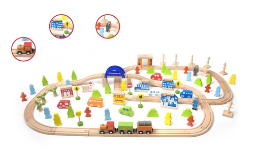 Train Set (110pcs)